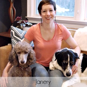 Living Pretty With Your Pets: Janery