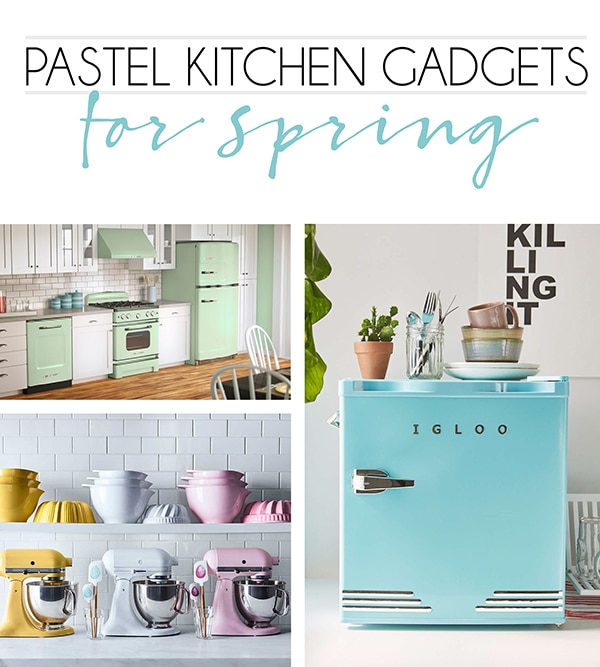 Pretty Pastel Kitchen Gadgets and Appliances Perfect for Spring - Cuckoo4Design