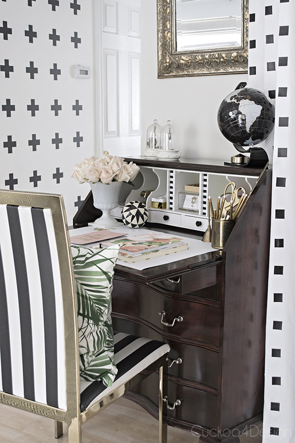 secretary desk styling - Cuckoo4Design