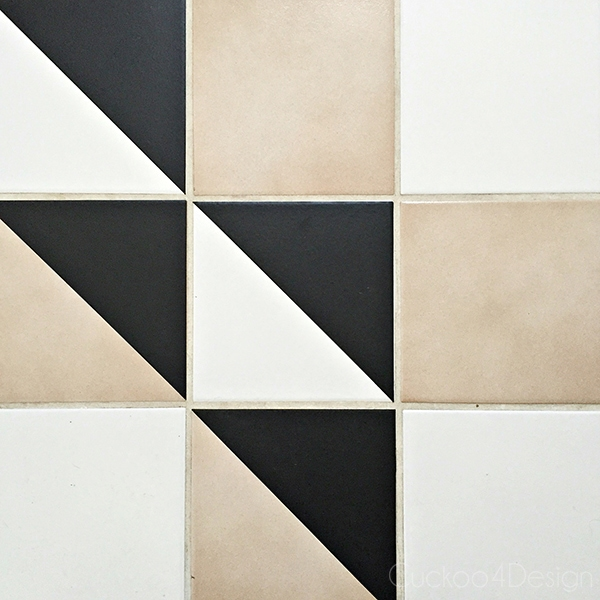 Applying vinyl wall decals to tiles - Cuckoo4Design