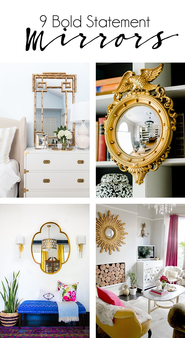 9 Bold Mirrors to Reflect Your Impeccable Style - Cuckoo4Design