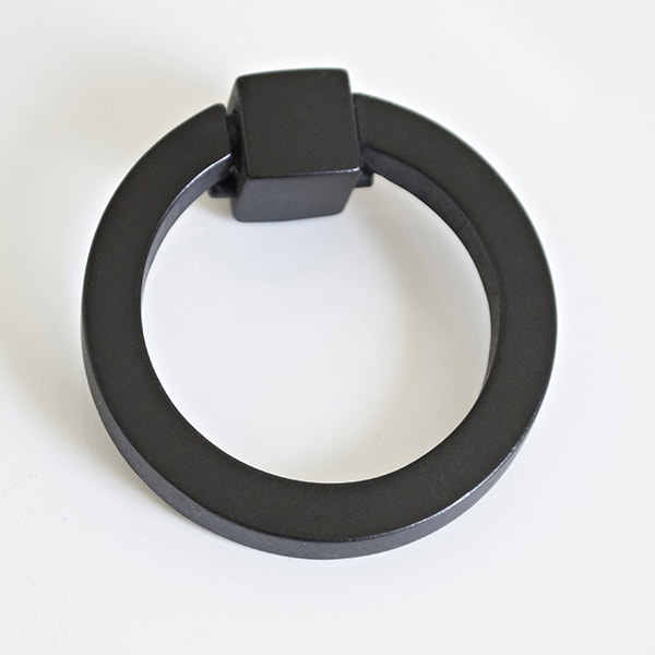 mat black ring pulls - Cuckoo4Design