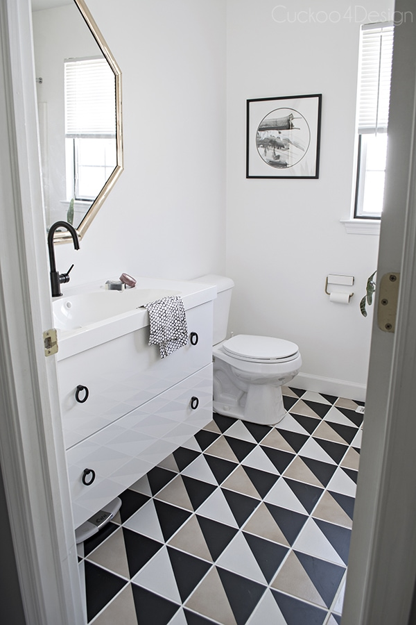 Master bathroom updates cuckoo4design for Room with attached bathroom designs