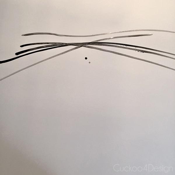 DIY modern Goodwill Art - Cuckoo4Design