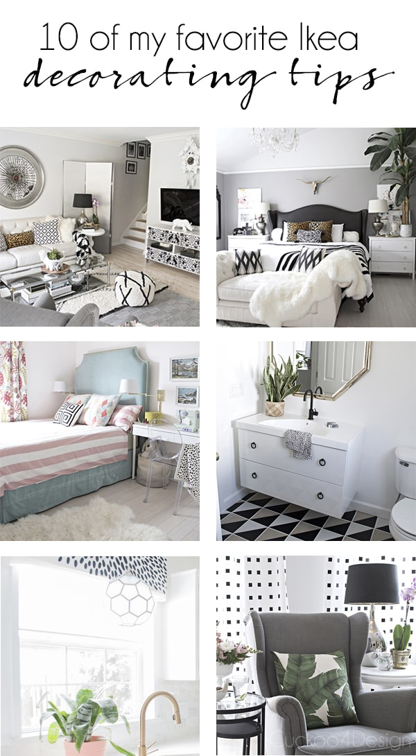 10 of my favorite Ikea decorating tips