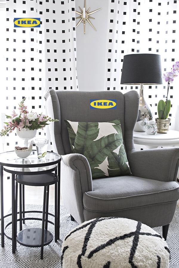 upholstered furniture Ikea decorating ideas