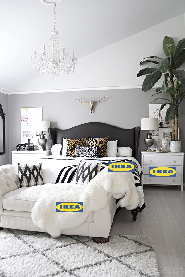 Ikea decorating ideas using updated hardware