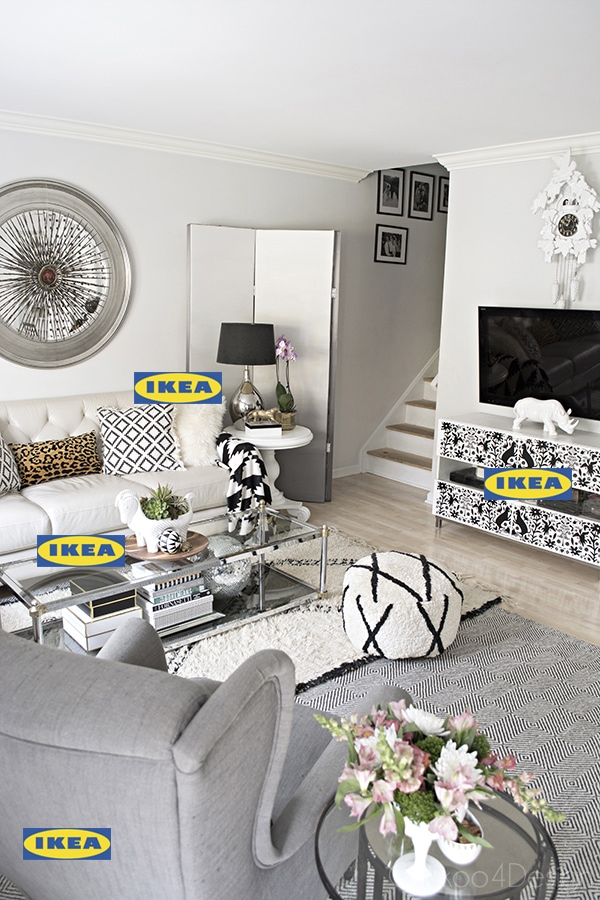 Ikea decorating ideas throughout my home