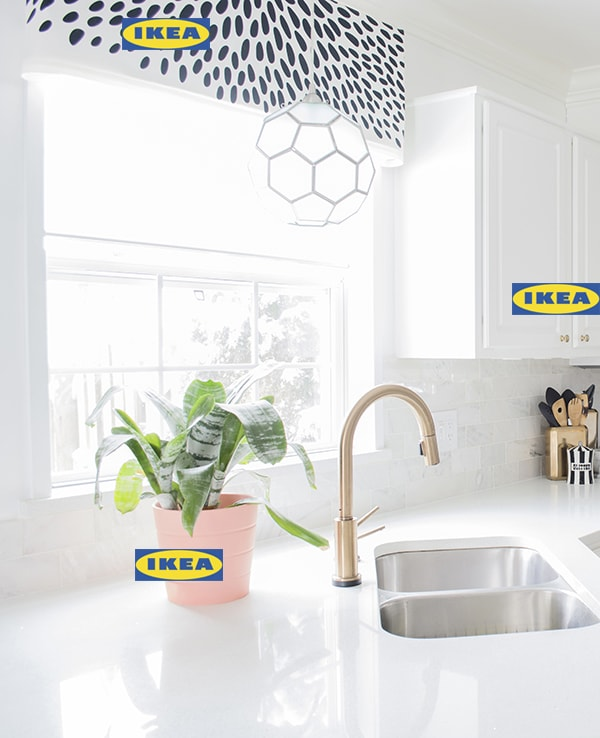 Ikea decorating ideas in our kitchen