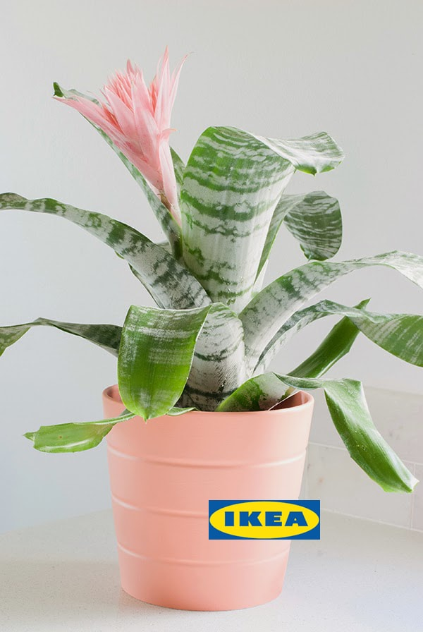 Ikea decorating ideas using painted flower pots