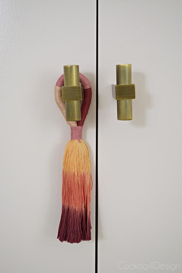 Quartz Pink dresser makeover: before and after - Cuckoo4Design