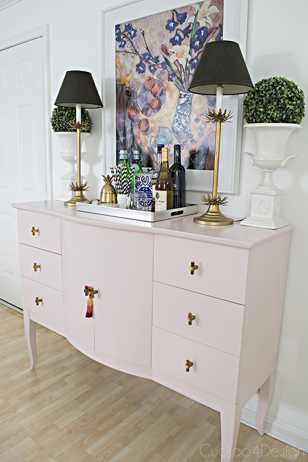 Quartz_pink_dresser_makeover_with_modern_gold_hardware_14