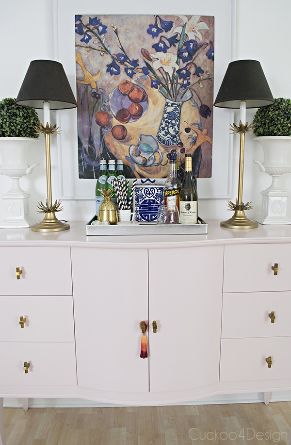 Quartz_pink_dresser_makeover_with_modern_gold_hardware_15