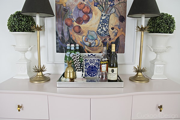 Quartz_pink_dresser_makeover_with_modern_gold_hardware_16