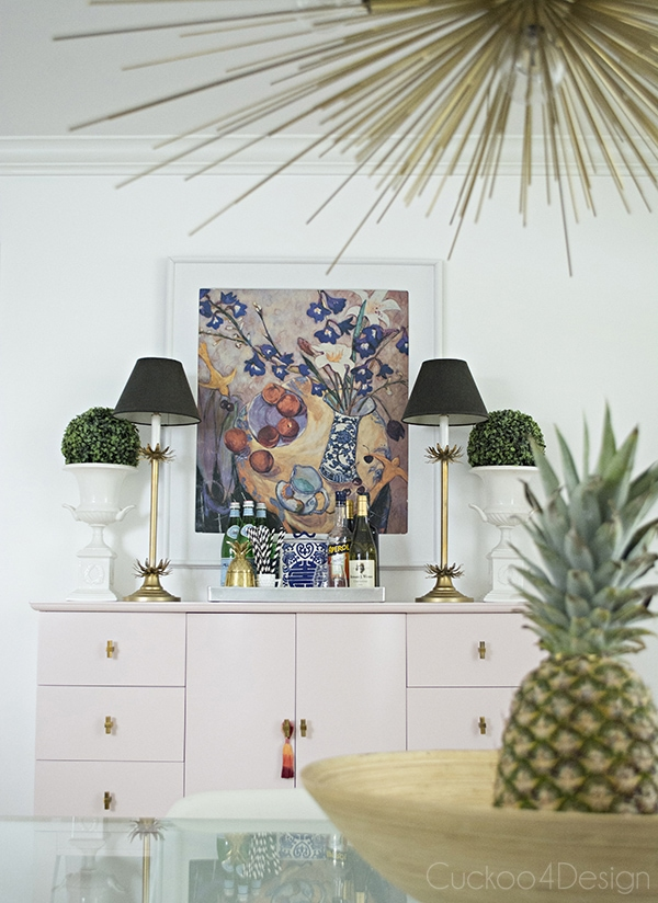 Quartz_pink_dresser_makeover_with_modern_gold_hardware_2