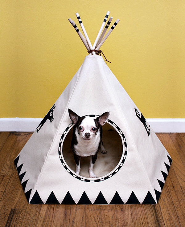 small dog or cat teepee