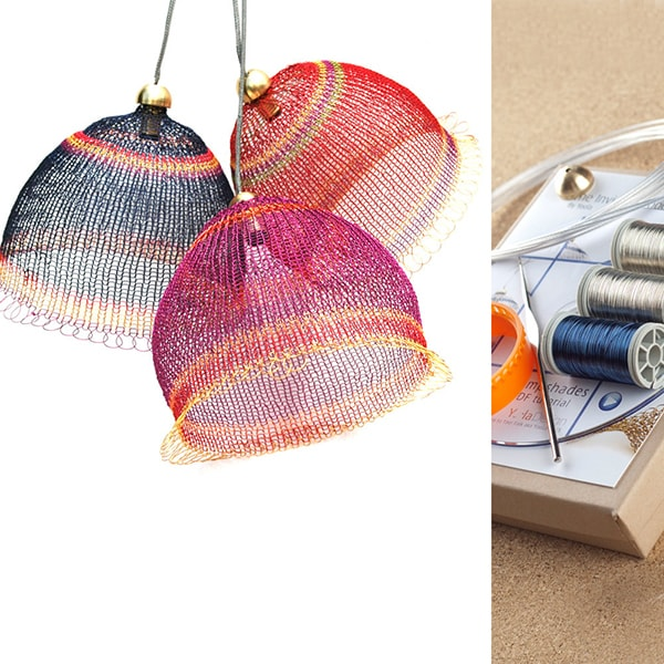 wire crochet light kit