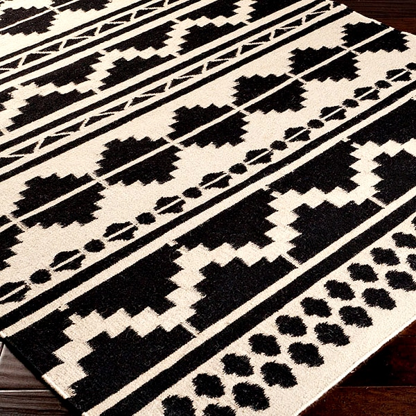 black_and_white_aztec_tribal_rug