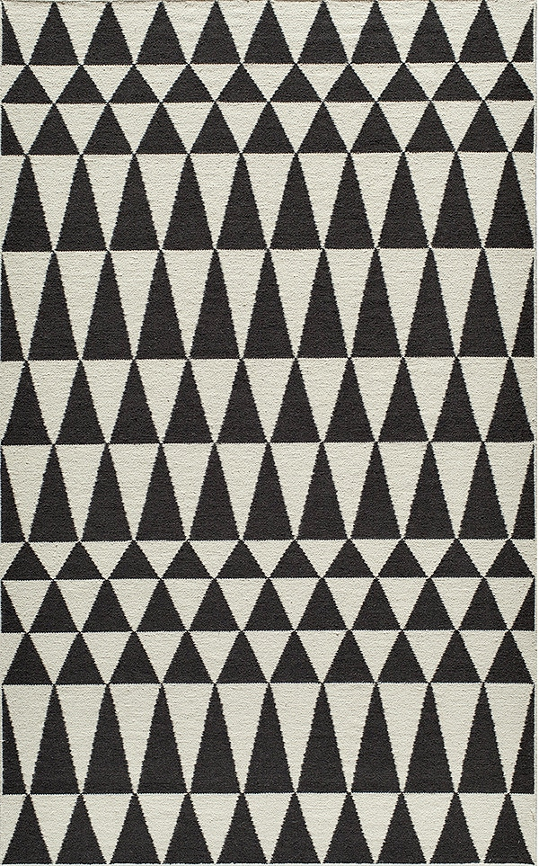 black_and_white_triangle_tribal_rug
