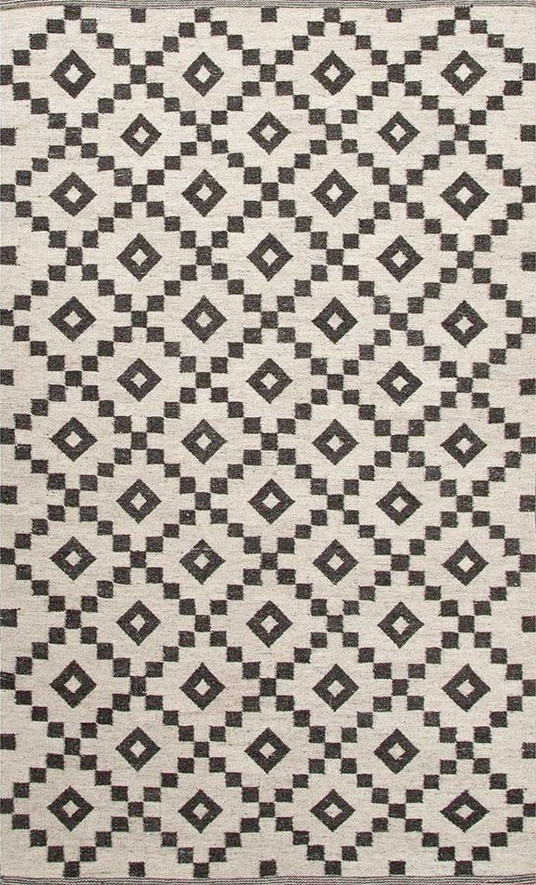 black_and_white_tribal_diamond_rug