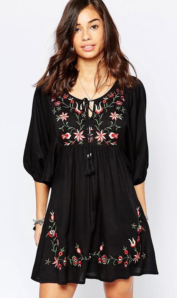 black_boho_dress