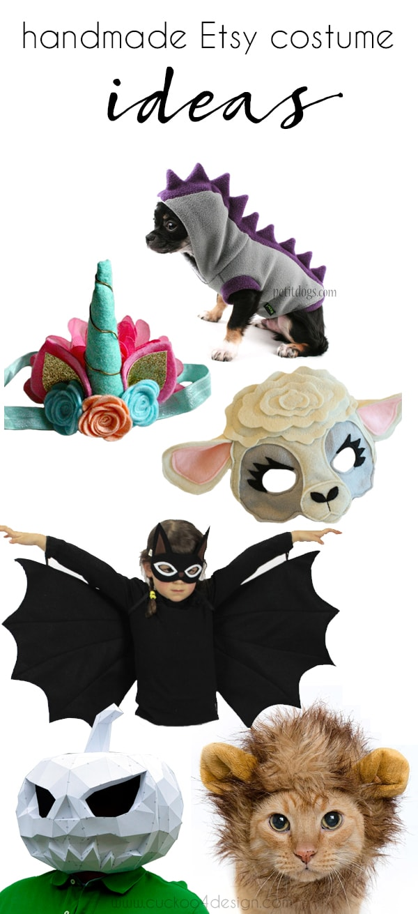 Etsy favorite Halloween costumes
