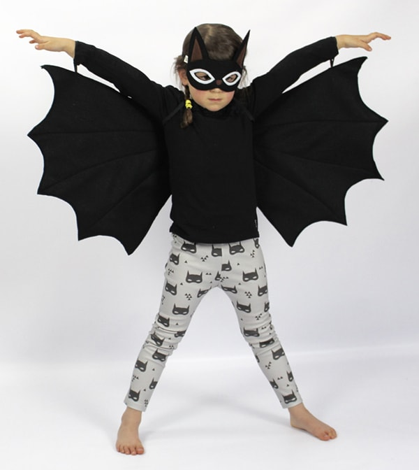 handmade felt batwings for kids