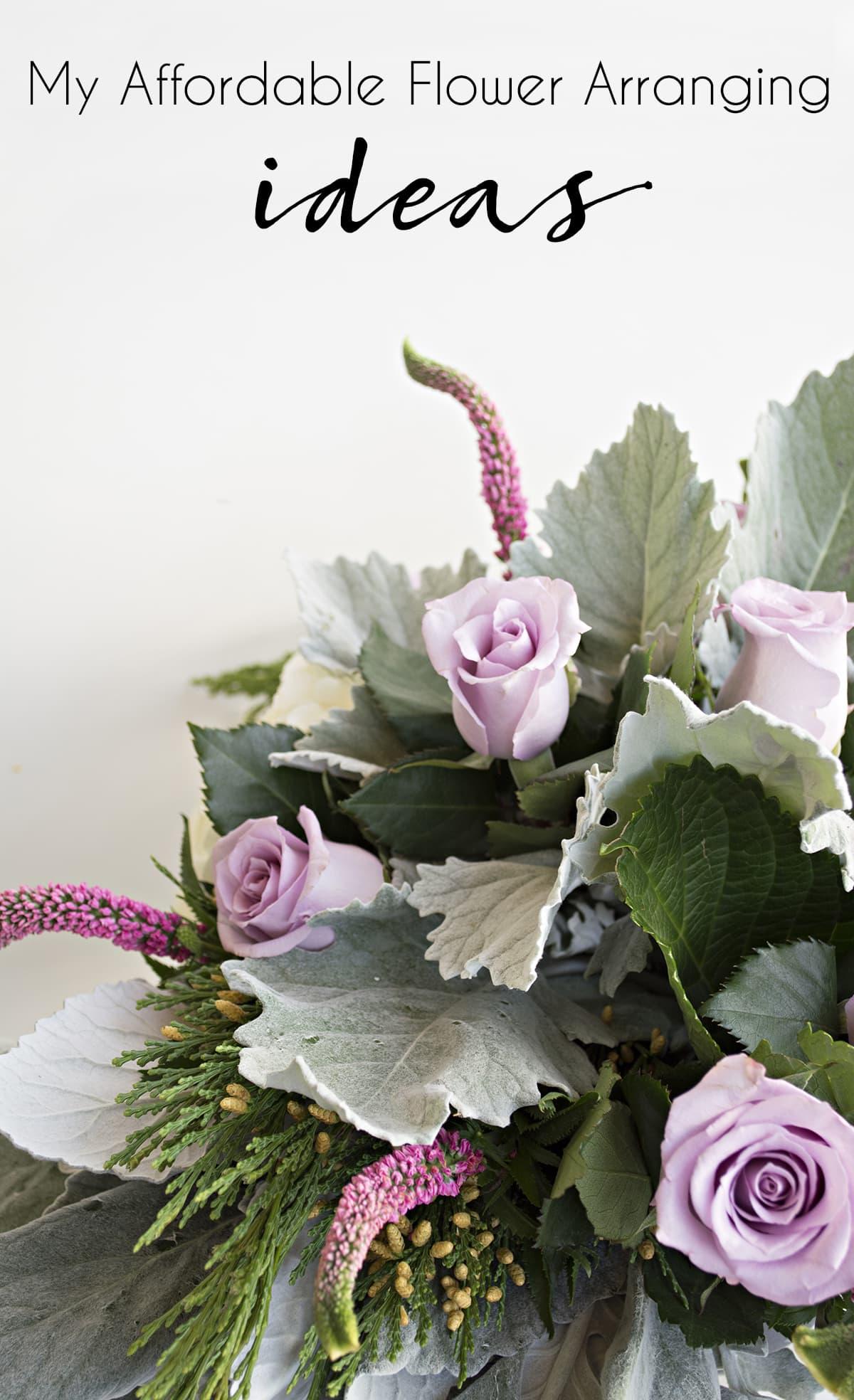 Affordable Flower Arrangement Ideas | Cuckoo4Design