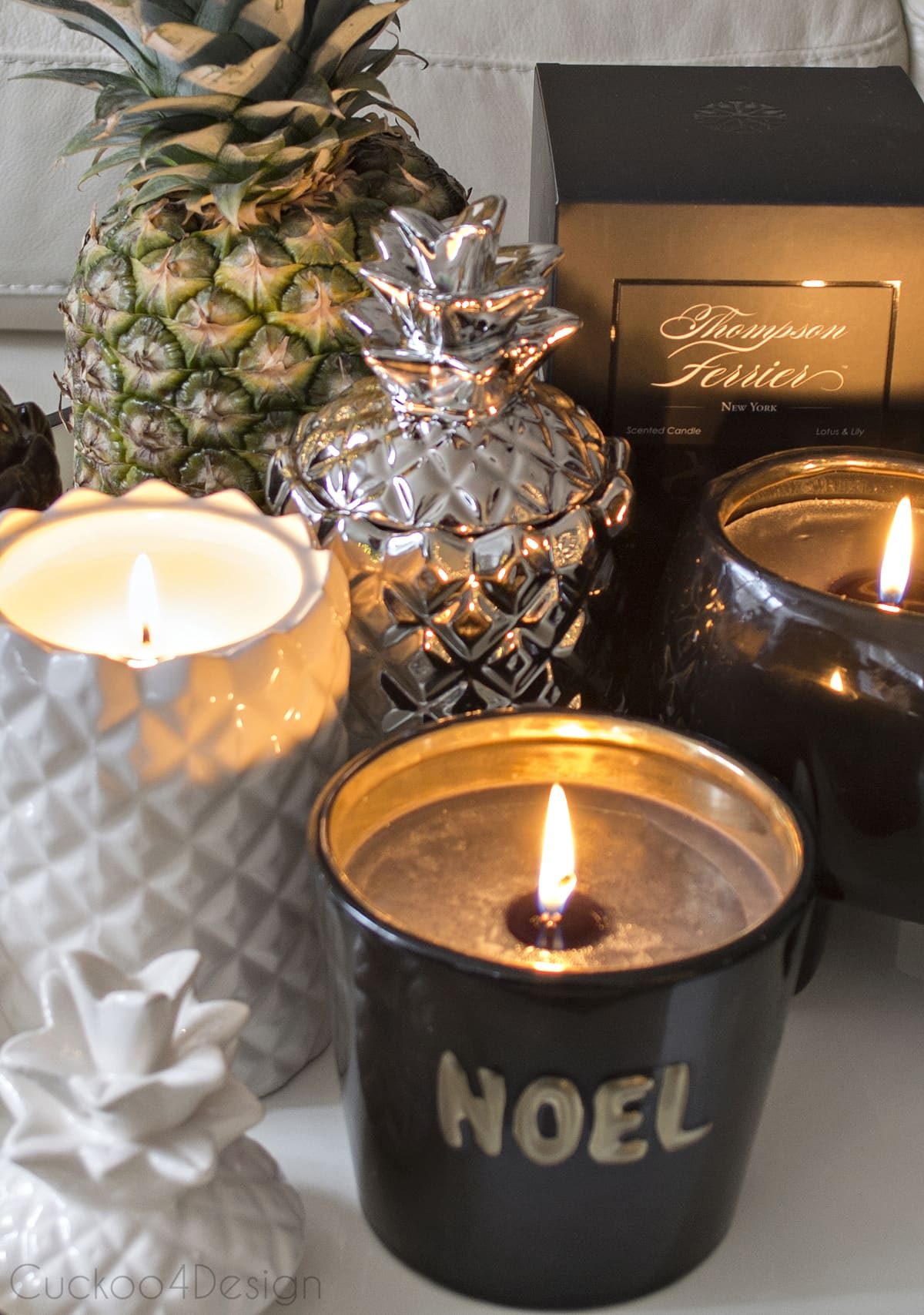 Elegant Thompson Ferrier candles