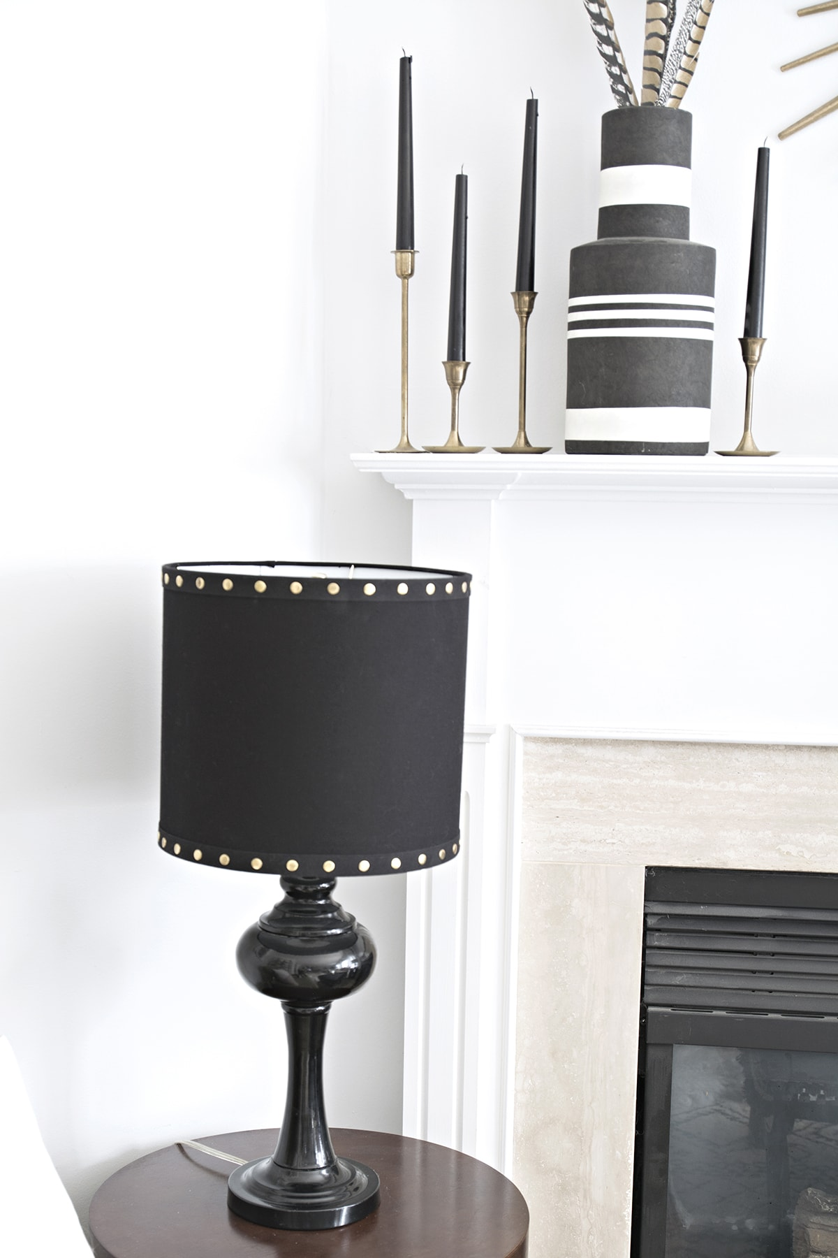 Small decor changes how to add a harp to a lamp cuckoo4design i searched high and low for the same shades online and just couldnt find them its just another lucky homegoods find and im sorry i cant share a link aloadofball Images