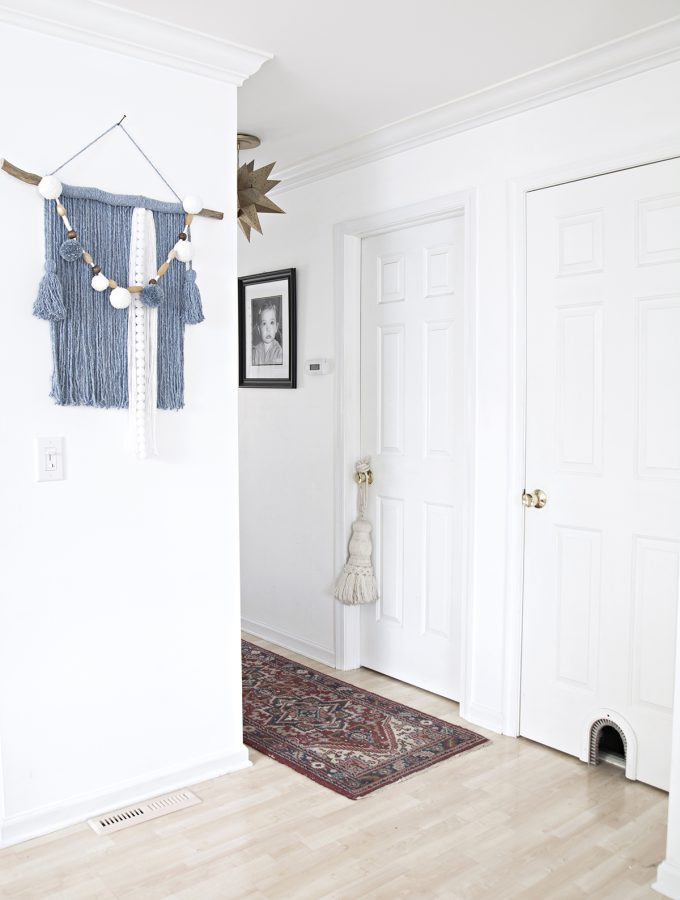 Small visual interior home changes with a big impact