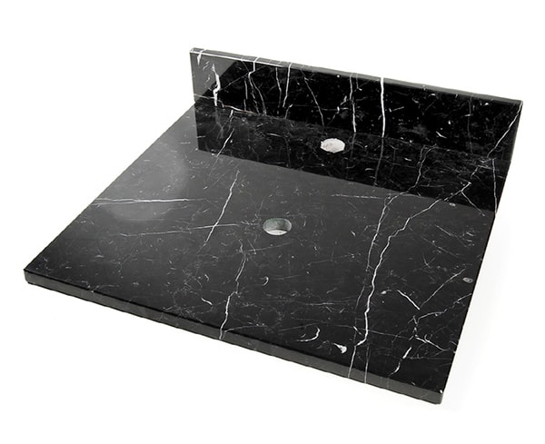 D'Vontz Natural Stone Vanity Tops Black Marquine