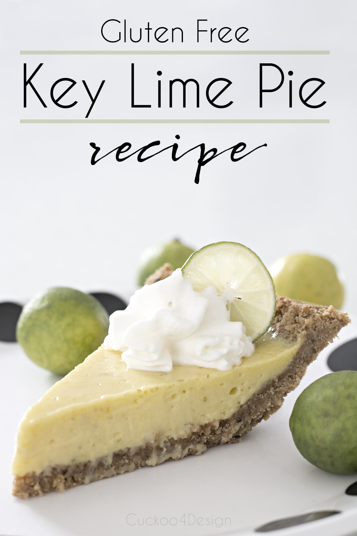 yummy gluten free key lime pie