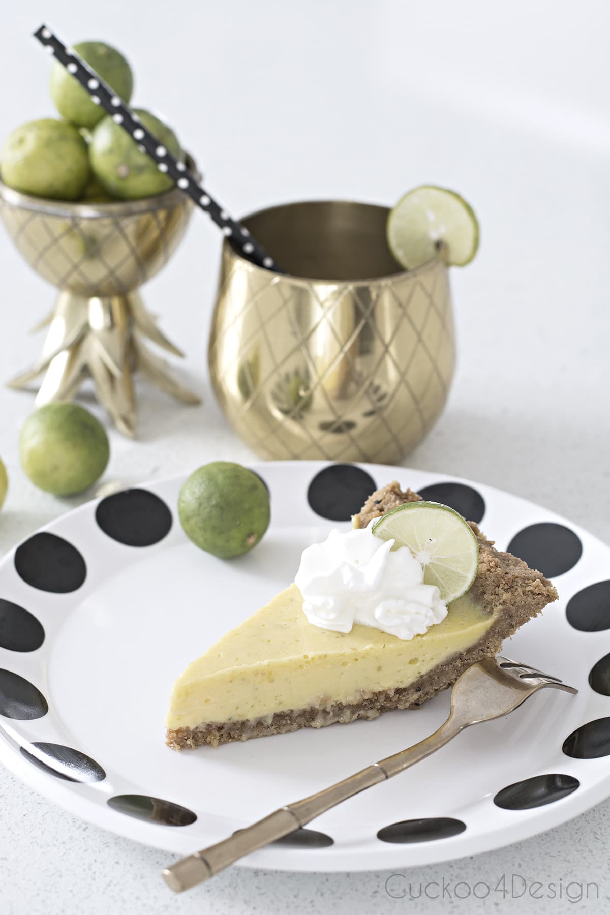 the best gluten free Key Lime Pie Recipe with fresh key limes