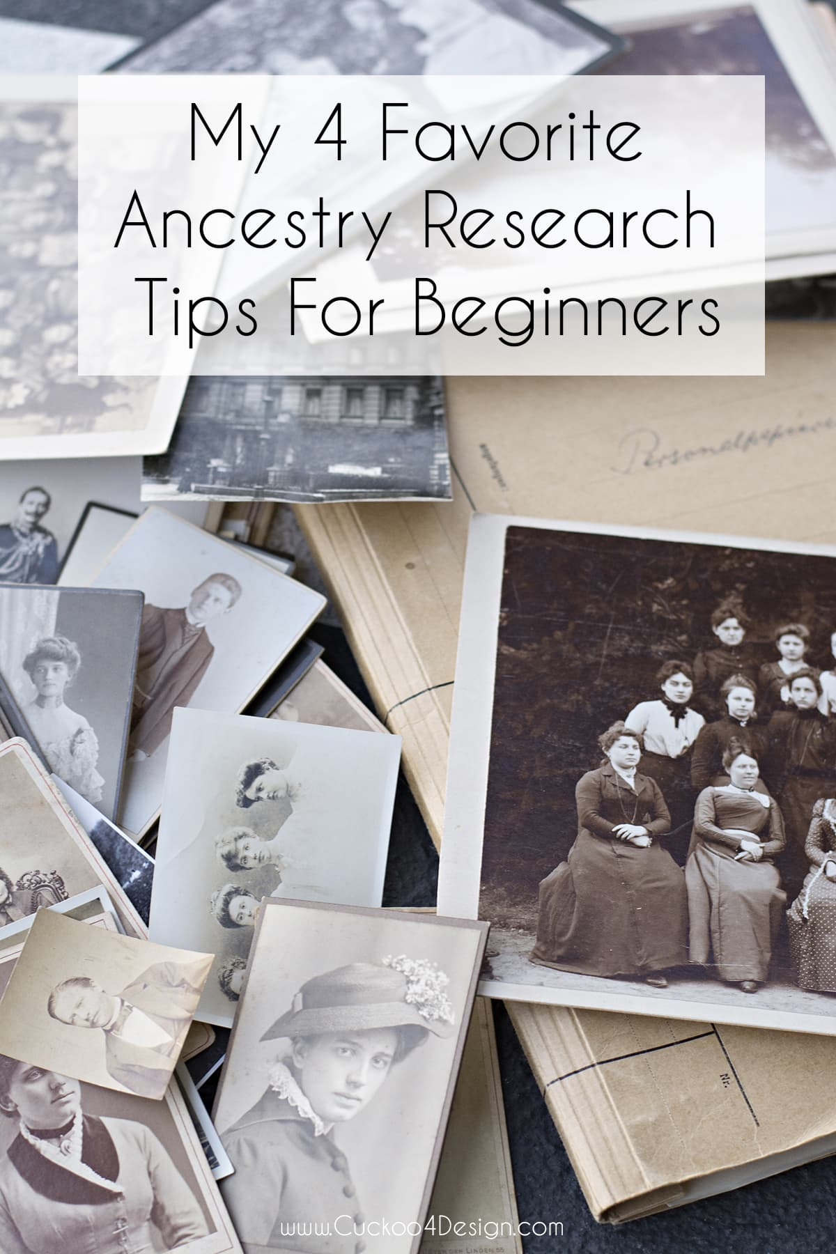 My 4 favorite ancestry research tip for beginners