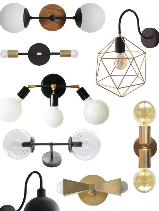 Friday Etsy Favorites: Vanity Lighting