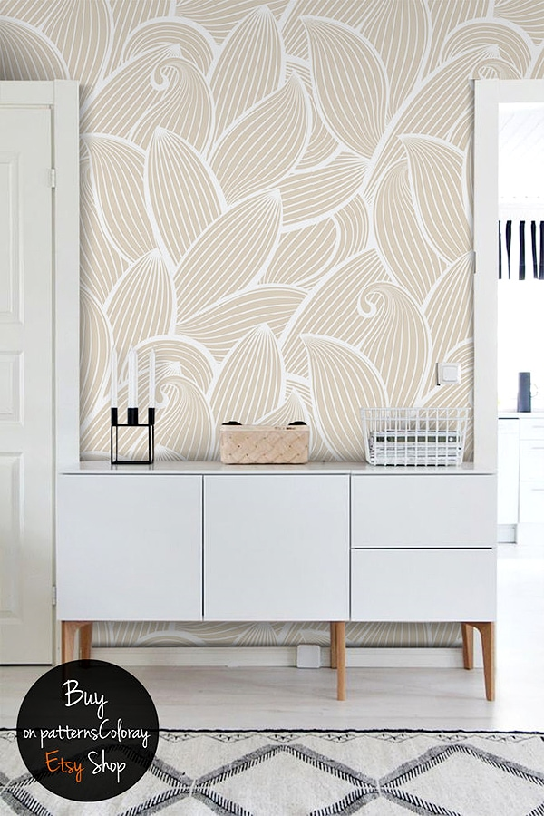 neutral abstract pattern wallpaper