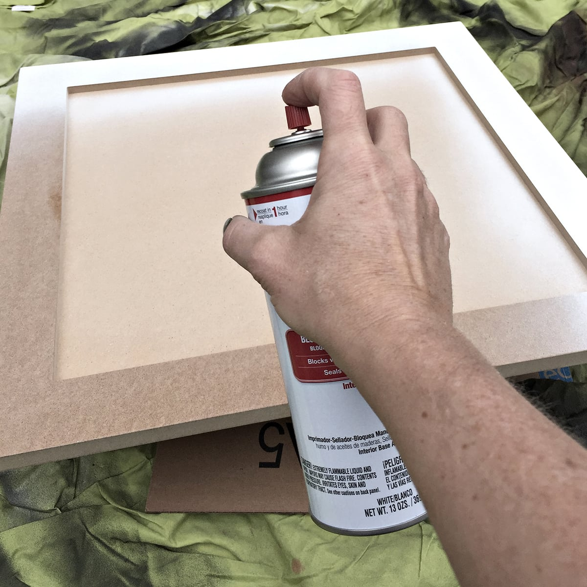 using a great oil based spray primer