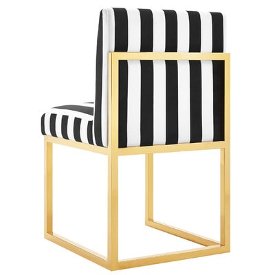 Friday Favorites: Black and white striped furniture