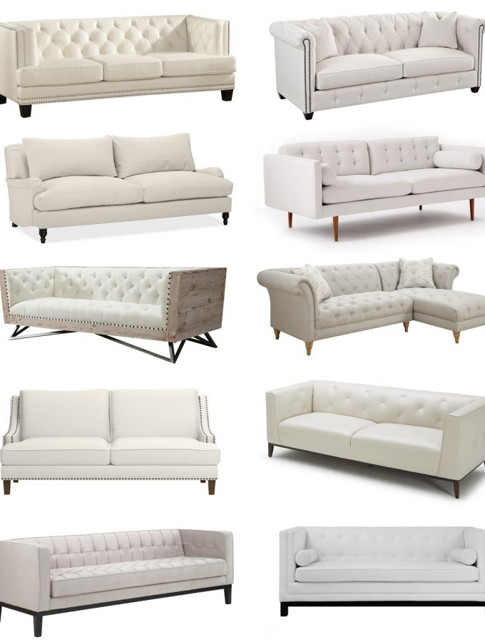 Friday Favorites: Best Neutral Sofas