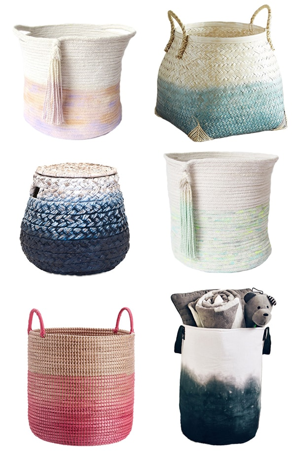 Friday Favorites: Ombre Storage Baskets