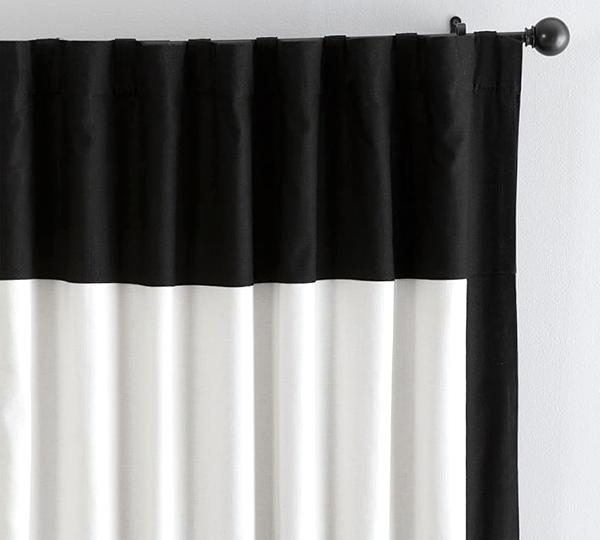 My Favorite Black And White Curtains
