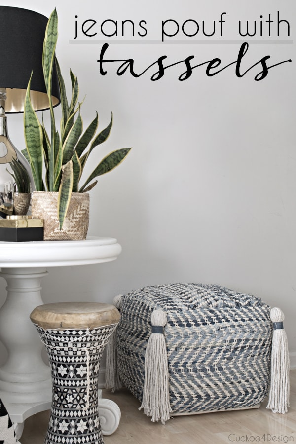 Easy tutorial about how to make mop head tassels for any type of decor.