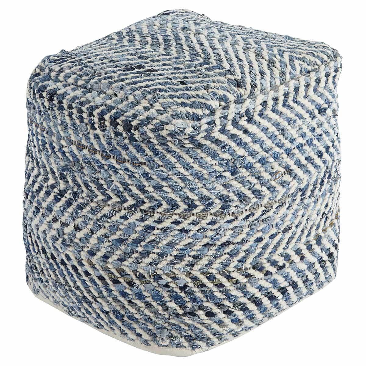 jeans chindi pouf