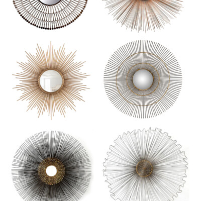 Friday Favorites: Sunburst Sculptures