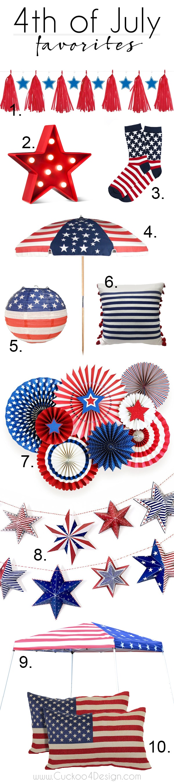 favorites for 4th of July