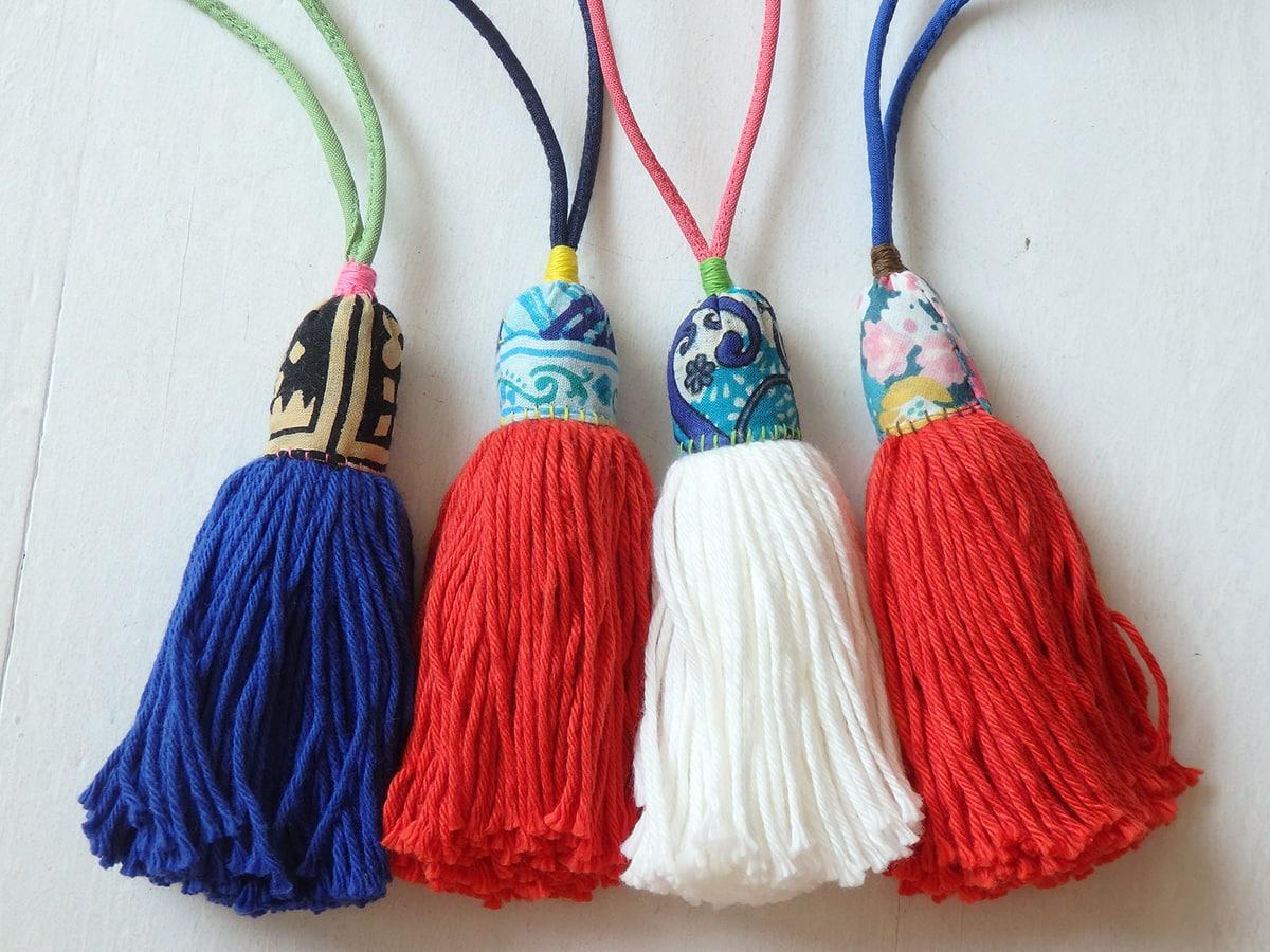 Handmade Hmong Tassels