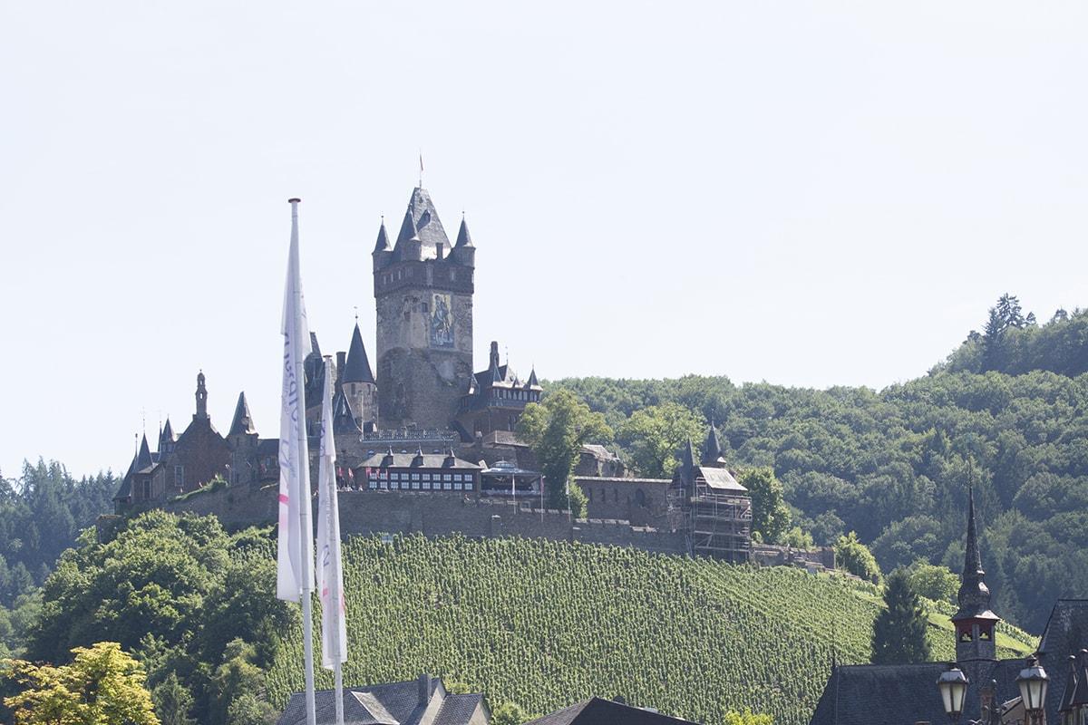 Cochem and Reichsburg Cochem