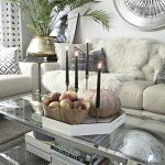 a hint of modern fall decor in this eclectic home tour