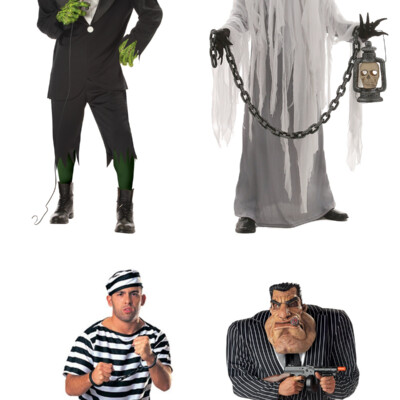 Friday Favorites: affordable Black and White Halloween Costumes